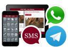 Iscrizione LRHApps-SMS-Whatsapp-Telegram