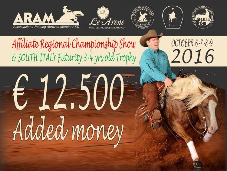 South Italy Futurity e 6 tappa LRHA ASD 2016