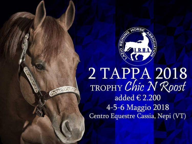 "2 tappa ""Chic N Roost"" LRHA ASD 2018"